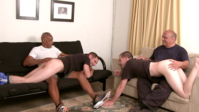 Spanking young guys