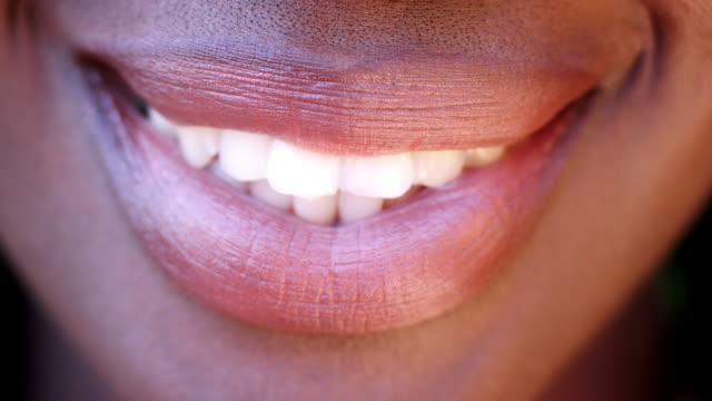 Smile stock footage