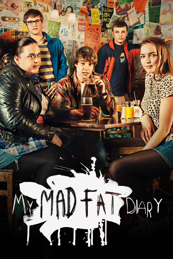 Is my mad fat diary on netflix